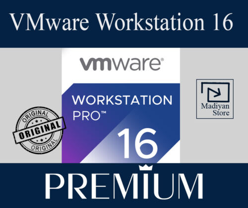 🟩VMware Workstation PRO 16 ✅Life Time ✅Instant Delivery ✅Private