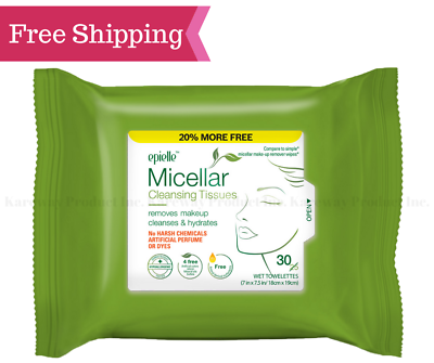 epielle® Micellar Cleansing Tissues Makeup Remover Face Hyd