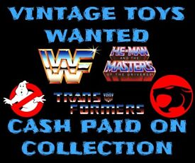 Wanted Vintage Toys Cash waiting attics ISO Star Wars He-man TMNT Transformers ghostbusters