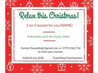 Healing energy sessions (1-to-1), *SPECIAL Christmas Offer* Gift Vouchers available