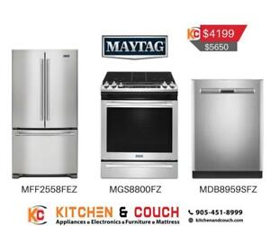 Maytag  3 Appliance Package | Sale on Appliances (MAY405)