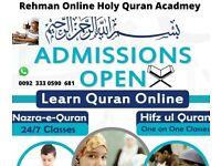 Learn quran with tajweed.Al Rehman quran academy.Reasonable fee