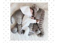 Christmas Baby Toy ELEPHANT Sleeping PILLOW Plush Stuff Animal Cute Big Soft Toy Baby Nursery Decor
