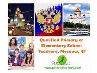 39,000 Euros Net for Primary Teachers Needed Urgently in Moscow, Russia