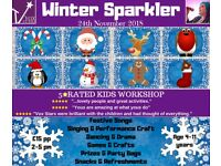 'Winter Sparkler'-Kids Workshop/Children's Christmas Event