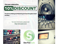 Sound Engineering Services (Music Mixing & Mastering)