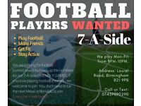 Looking For Football Players (7-A-Side)