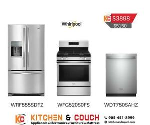 Whirlpool Stainless steel Appliance Package | Sale on Appliances (WRL405)