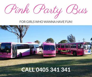 Pink Party Bus Sydney - Party Bus Hire In Sydney