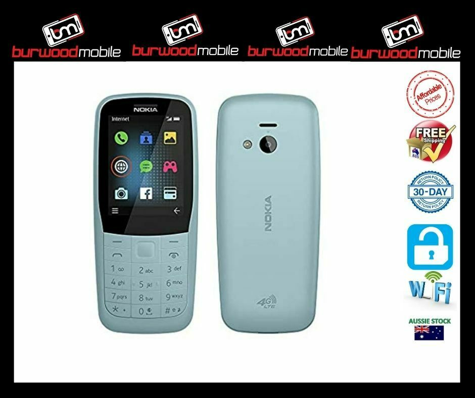Android Phone - Nokia 220  Blue - [Au Stock]- Brand New -4G PHONE