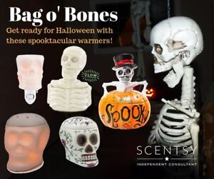 Scentsy Halloween warmers now available!