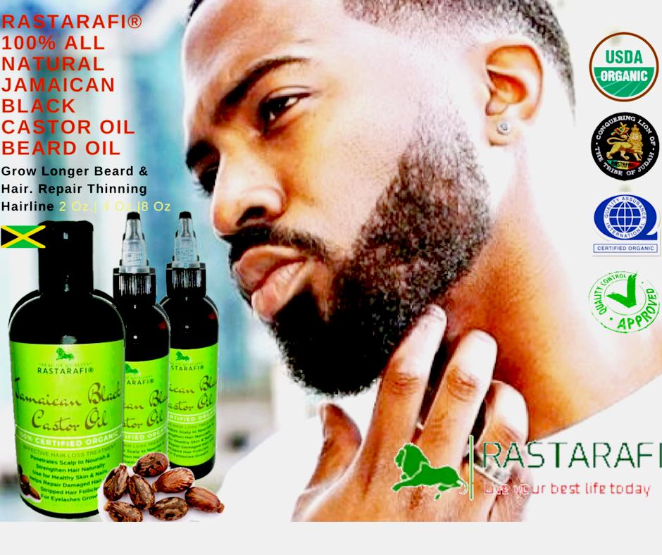 rastarafi premium beard oil 8 oz grow