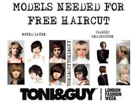 FREE HAIRCUT FROM HIGHLY EXPERIENCED TONI&GUY STYLIST