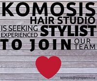 Licensed Hairstylist Wanted
