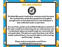 Part time role (evenings & weekends) with an exciting new pub in Hanwell, W7
