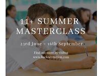 11+ Summer Masterclass