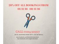 20% Off All Bookings From 01/11/16 - 08/11/16