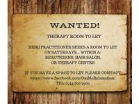 Looking for Therapy room to let in Renfrewshire - Johnstone or surrounding area
