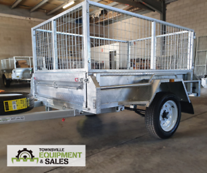 6x4 & 7x4 BOX TRAILERS IN STOCK!! Currajong Townsville City Preview