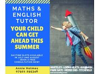 Maths & English Tutor: Whiteley-Warsash-Fareham-Hedge End