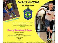 *NEW* Girls Only Futsal Club in East London