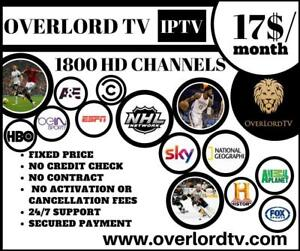Best Online Tv service (IPTV) in the World! 400 US/CA/UK CHANNELS. FULL HD. GUARANTEED SATISFACTION or money back