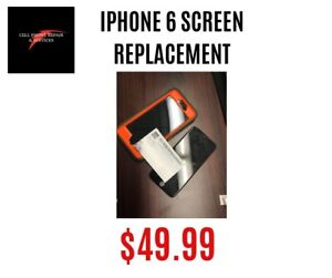 iPhone 6 screen replacement only $49.99 ON SPOT 20MINS