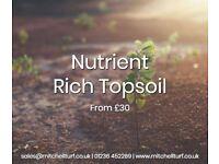 Garden Topsoil - Nutrient rich