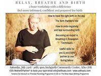 Relax, Breathe, Birth - Birth preparation workshop