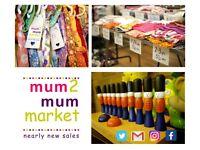 Reading's mum2mum market ~ children & baby nearly new sale