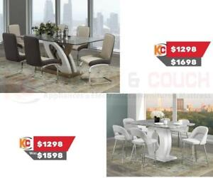 BEAUTIFUL DINING TABLE AND CHAIRS SET ON SALE ST CATHERINE, ONTARIO(BD-106)