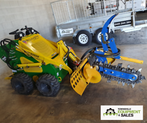 Auger Torque MT600 Trencher 150mm Combo Chain **Demo Model** Currajong Townsville City Preview