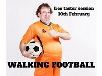 Players wanted for free taster session of Walking Football - Over 50's
