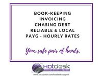 Need help? PAYG Book-keeping, invoicing, chasing & more - FREE trial