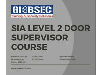 SIA Door Supervisor Course