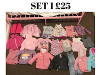 GIRLS CLOTHES* *HUGE BUNDLE* AGE 1-3. 83 ITEMS IN TOTAL!