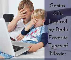 Genius Gifts Inspired by Dad's Favorite Types of Movies