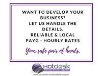 Want to expand your business & have more time? PAYG rates for social media / finance / admin & more