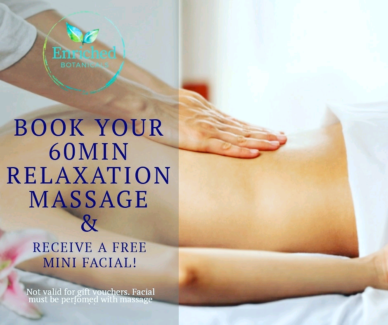 Free Facial with Full Body Massage