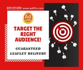 Guarantee Leaflet, flyer Distribution through GPS Tracking - Boost your sales, fully managed service