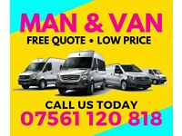 MAN AND VAN *FREE Quote* 07 561 120 818