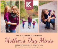 Mother's Day mini photoshoot