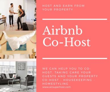 Grow your airbnb wealth with help from the co-host