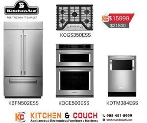 KitchenAid Four Appliance package Deal | Big Appliance Sale (KTN404)