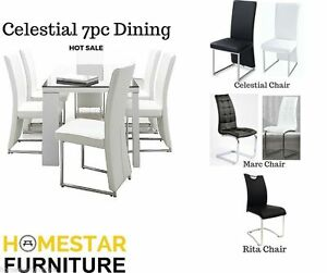 Celestial 7pc Dining Set - Best Seller Sydney City Inner Sydney Preview