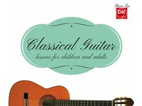 Classical Guitar Lessons in Central Milton Keynes