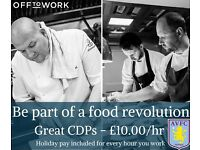 Chef – don't miss out! Excellent CDPs, Commis and fast food chefs