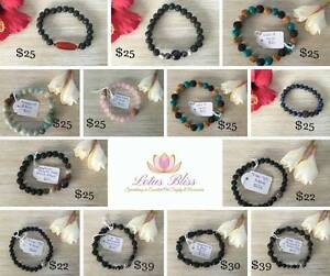 Essential Oil Jewellery Bracelets Necklaces by Lava Links Mount Pleasant Melville Area Preview
