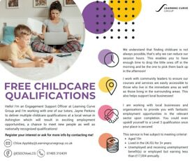 FREE childcare courses