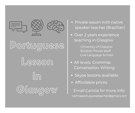 Private Portuguese Lesson